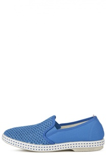 Слипоны с текстильной сеткой Rivieras Leisure Shoes