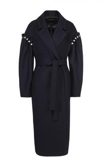 Пальто со спущенным рукавом и жемчужной отделкой Mother Of Pearl