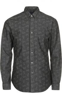 Полуприталенная рубашка с узором пейсли Polo Ralph Lauren