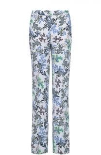 Расклешенные брюки со стрелками и ярким принтом Dorothee Schumacher