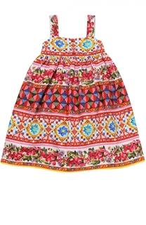 Комплект из сарафана и трусов с принтом Dolce & Gabbana
