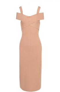 Платье-футляр с открытыми плечами Tom Ford