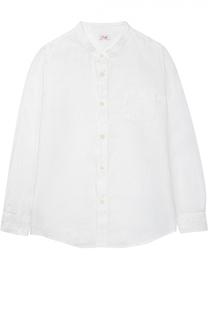 Классическая рубашка из льна Il Gufo
