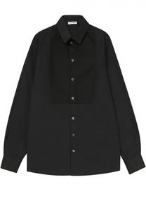 Классическая рубашка из хлопка Dolce & Gabbana