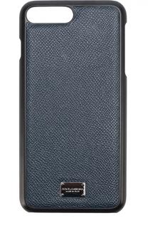 Кожаный чехол для iPhone 7 Plus Dolce & Gabbana