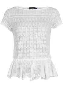 Вязаная футболка Polo Ralph Lauren
