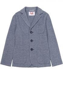 Однобортный пиджак джерси Il Gufo