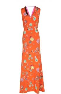 Вчернее платье с колье Emilio Pucci