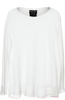 Блуза вязаная Giorgio Armani