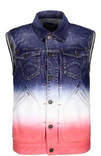 Джинсовый жилет Armani Jeans