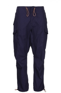 Хлопковые брюки-карго с молниями Mastercraft Union