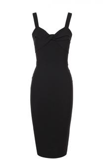 Платье-футляр с драпировкой Victoria Beckham
