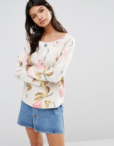 Maison Scotch Allover Printed Sweatshirt - Мульти