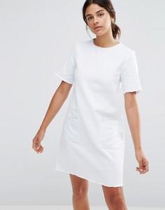 Джинсовое платье Native Youth - Белый