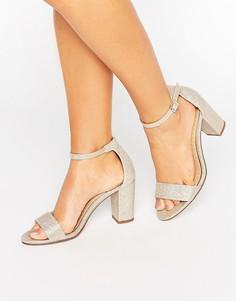 Босоножки на каблуке Miss KG - Золотой