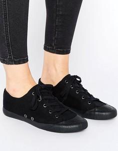 Кроссовки на шнуровке ASOS DAISY CHAIN - Черный
