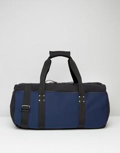 Темно-синяя спортивная сумка Systvm - Темно-синий