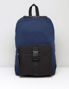 Рюкзак с пряжкой спереди Systvm - Темно-синий
