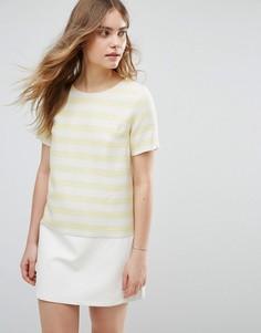 Цельнокройное платье в полоскуTraffic People - Желтый