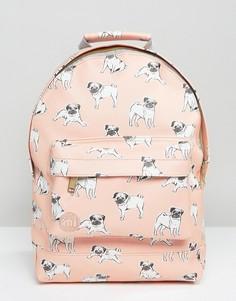 Рюкзак с принтом мопса Mi-Pac - Розовый