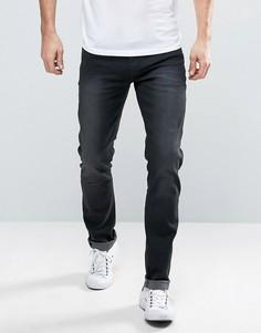 Черные узкие джинсы Blend - Синий
