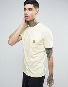 Футболка с карманом Carhartt WIP - Желтый
