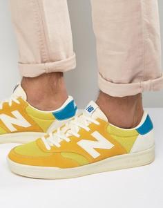 Желтые кроссовки New Balance Classic Court CRT300AY - Желтый