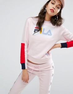 Свободный свитшот Fila - Розовый