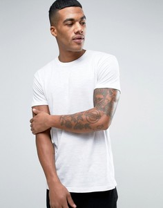 Белая футболка Solid - Белый