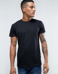 Черная футболка Solid - Черный