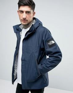 Темно-синяя куртка с капюшоном The North Face 1990 Mountain - Темно-синий