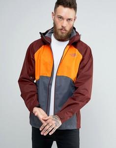 3-цветная куртка с капюшоном The North Face Sequence - Оранжевый
