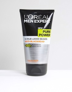 LOreal Men Expert Pure Power Scrub 150ml - Мульти Loreal