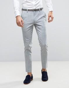 Зауженные брюки ASOS WEDDING - Серый