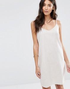 Платье без рукавов Vila Maier - Коричневый