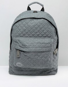 Стеганый рюкзак Mi Pac - Серый