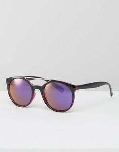 Круглые солнцезащитные очки Jeepers Peepers - Фиолетовый