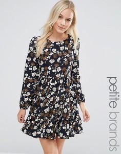 Свободное платье Yumi Petite - Черный
