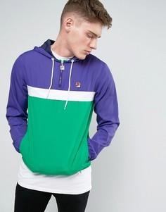 Куртка через голову Fila Vintage - Зеленый
