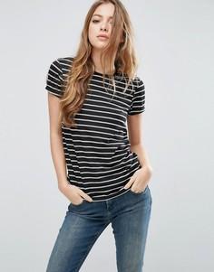 Полосатая футболка с круглым вырезом ASOS - Мульти
