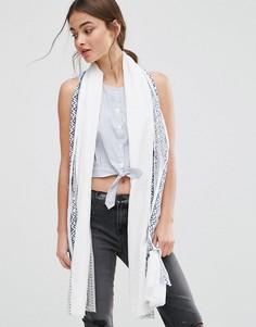 Легкий шарф с жаккардовым узором Nali - Мульти