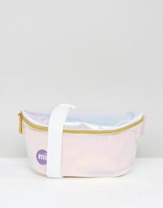 Сумка-кошелек на пояс с радужным оттенком Mi-Pac - Мульти