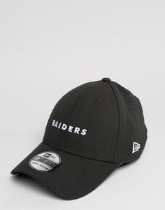 Кепка New Era 39Thirty Oakland Raiders - Черный