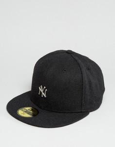 Кепка из плотного шерстяного сукна New Era 59Fifty NY Yankees - Черный