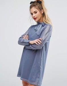 Платье мини Fashion Union - Синий