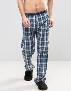 Тканые штаны для дома Esprit - Темно-синий