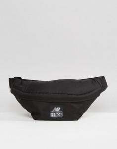 Черная сумка-кошелек на пояс New Balance - Черный