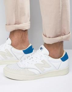 Белые кроссовки New Balance Classic Court CRT300WL - Белый