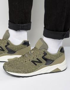 Черные кроссовки в стиле 70-х New Balance Running 420 MRT580XE - Зеленый