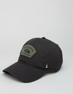 Черная бейсболка с логотипом из парусины The North Face - Черный